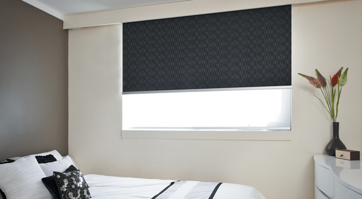 Double Roller Blinds Blockout Roller Blinds Kresta New